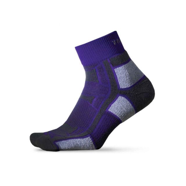 40026da2fa 2 pair THORLO Outdoor Athlete Socks Size Extra Small Purple Craze OAQU