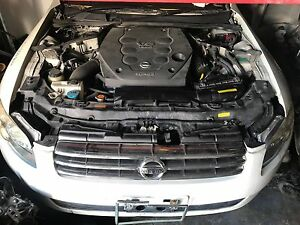 Details about ** JDM Nissan Infiniti G35 M35 350z Stagea VQ25DET AUTO  Engine Swap Turbo AWD **