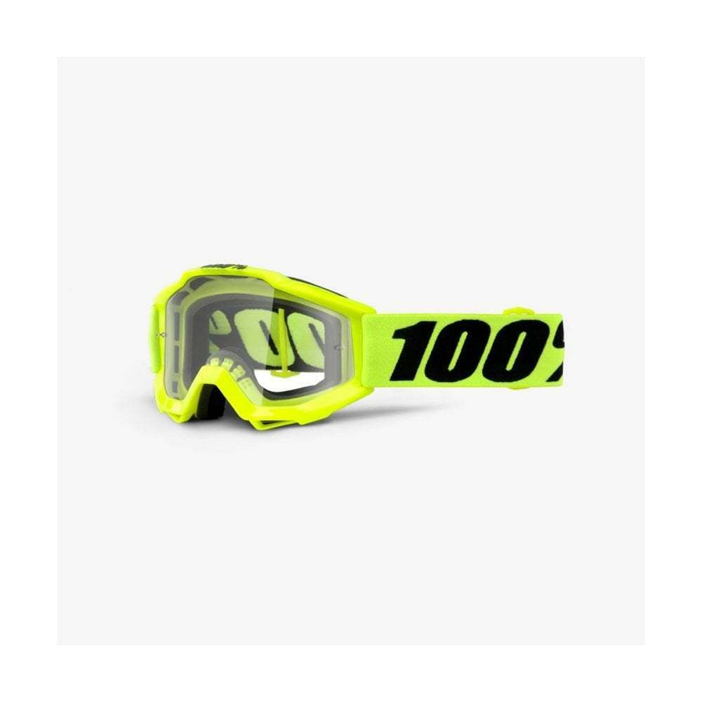 100% Accuri MTB Youth Goggles - Clear Lens