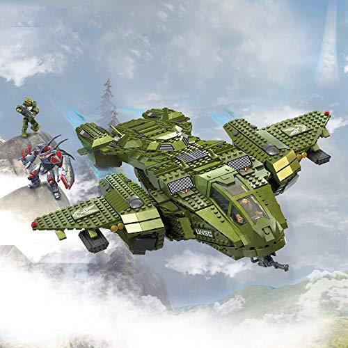 Multicolor Mega Construx Halo Infinite Vehicle Pelican Inbound