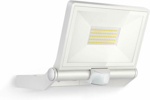in White Steinel XLED One XL LED Floodlight with PIR