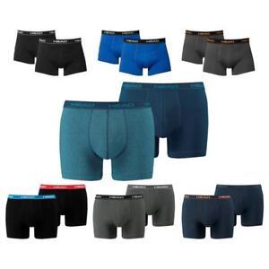 Nouvelles Mix Lot tête S Coton L Bleu couleurs M de XL Noir boxers de 6 rqwvFIr0