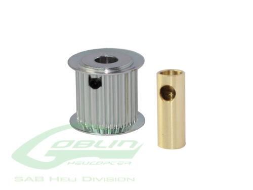 Aluminum Motor Pulley 21T (for 6/8mm motor shaft) H0175-21-S