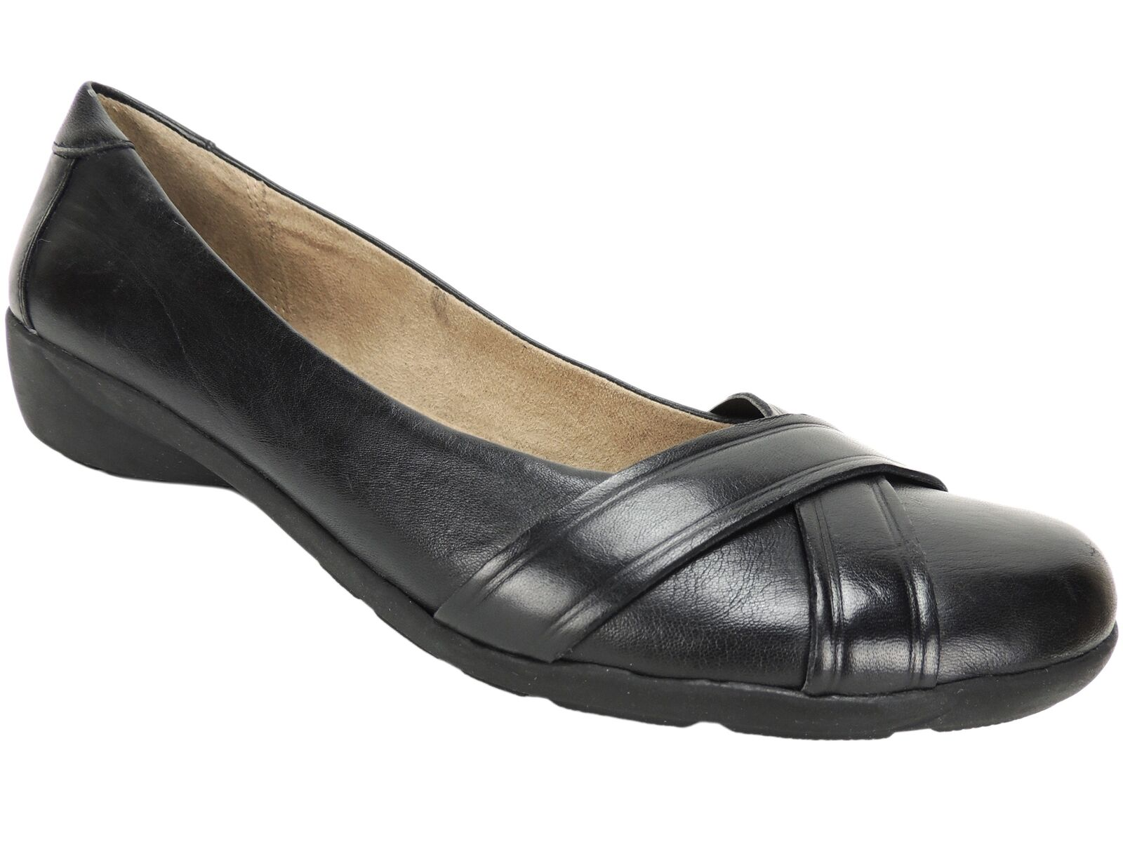 Naturalizer Women's Nariko Slip-On Loafers Loafers Loafers Black Size 8.5 M a7dde3