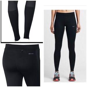 menor mineral Vacante  Nike Women's Essential Training Tights Black 645606-010 Black Xs   eBay