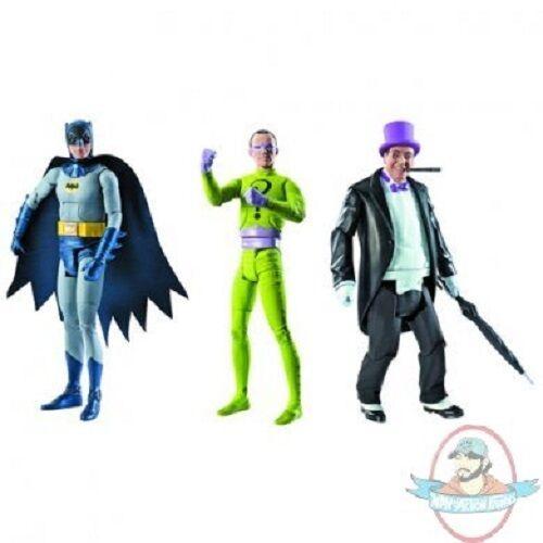 Batman Classics 1966 TV Series Wave 1 Set of of of 3 Figures Mattel 9a2ce0