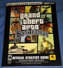 Grand Theft Auto San Andreas Signature Series Strategy Guide by BradyGames.