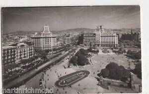 Spain-Barcelona-Plaza-de-Cataluna-RP-Postcard-B428