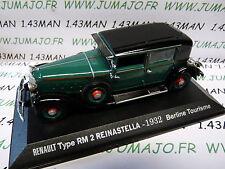 Voiture 1/43 M6 Universal Hobbies / norev  REINASTELLA type RM 2 1932