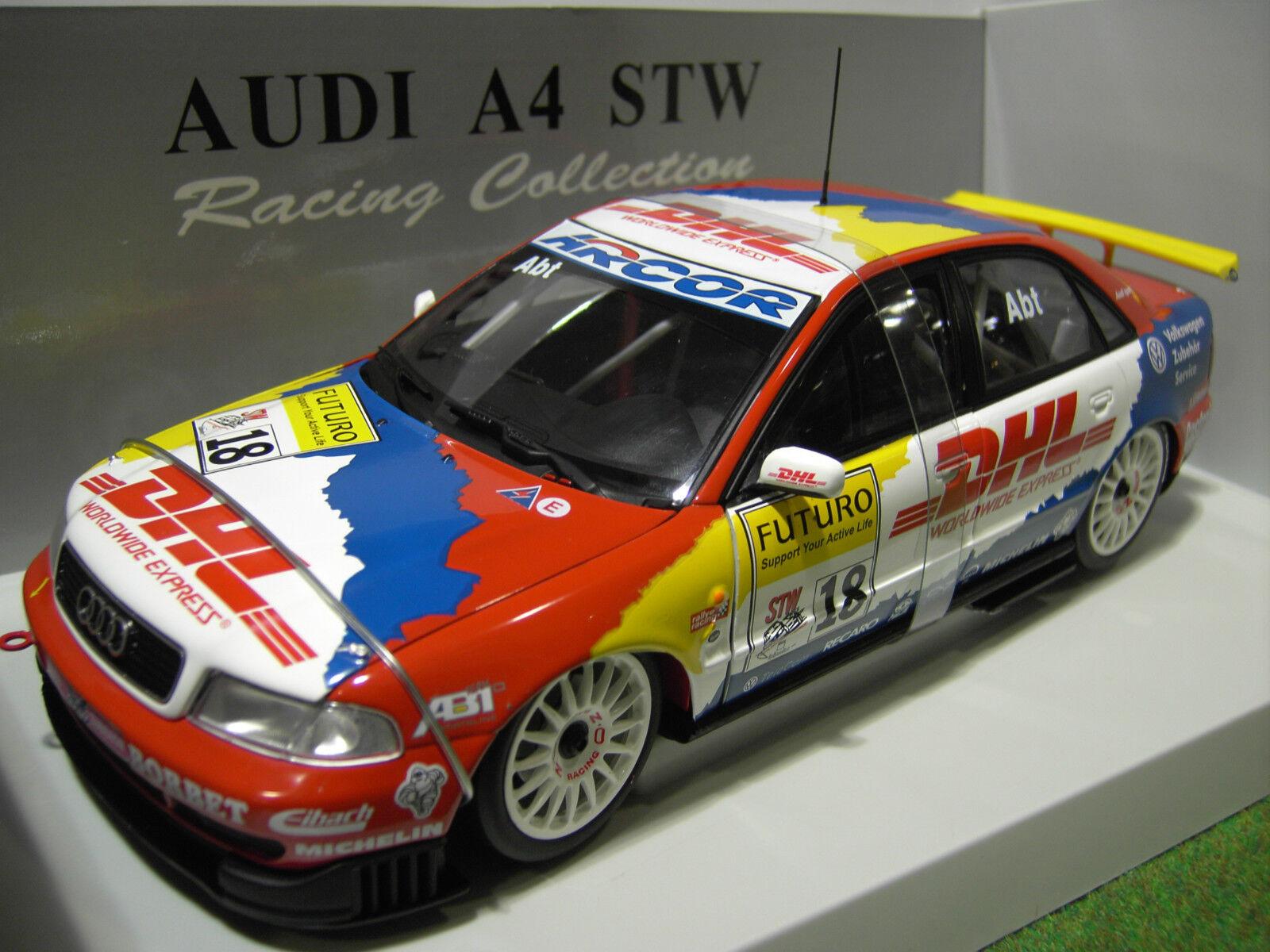 AUDI A4 ABT STW Racing Car  18 d 1998 DHL 1 18 UT Models 39874 voiture miniature