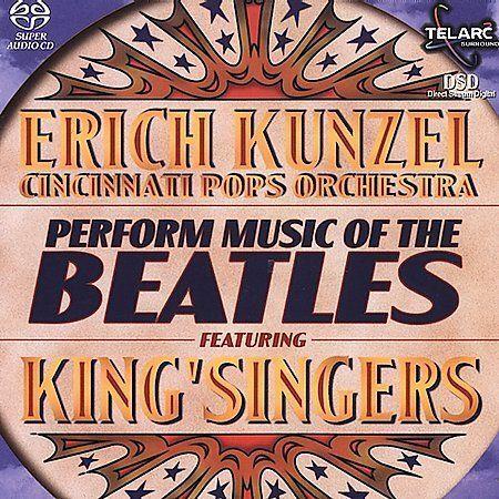Music of the Beatles by Erich Kunzel/Cincinnati Pops (SACD, 2001, Telarc) NEW