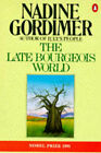 The Late Bourgeois World by Nadine Gordimer (Paperback, 1982)