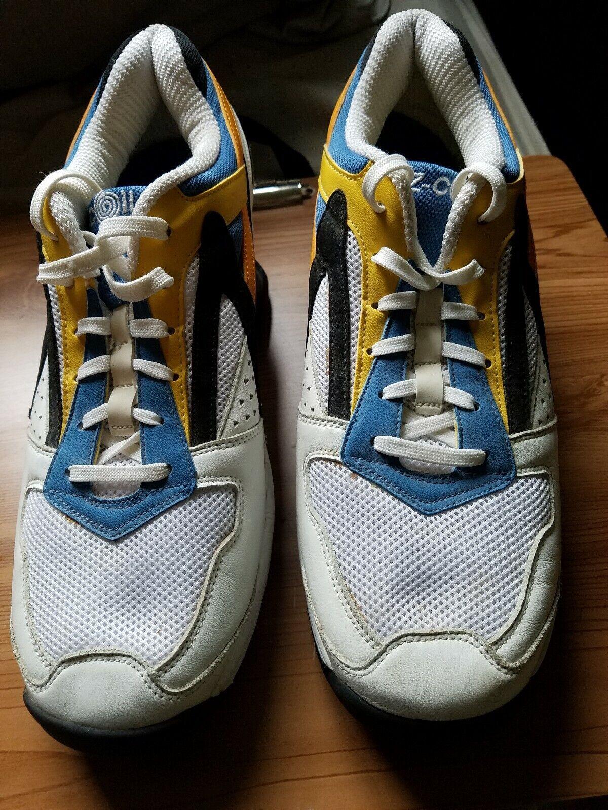 Excellent état utilisé Z-Coil Pain Relief Chaussures Homme 12 Anniversary Edition signé par inventeur