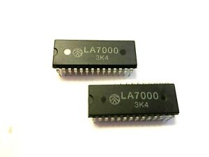 LA7000 Original New Sanyo Integrated Circuit  FREE Shipping within US LOT OF 2
