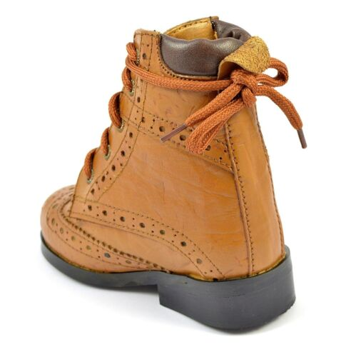 Kids Chelsea Boots Infant Junior Children Christmas Dress Shoes Size Boys Girls