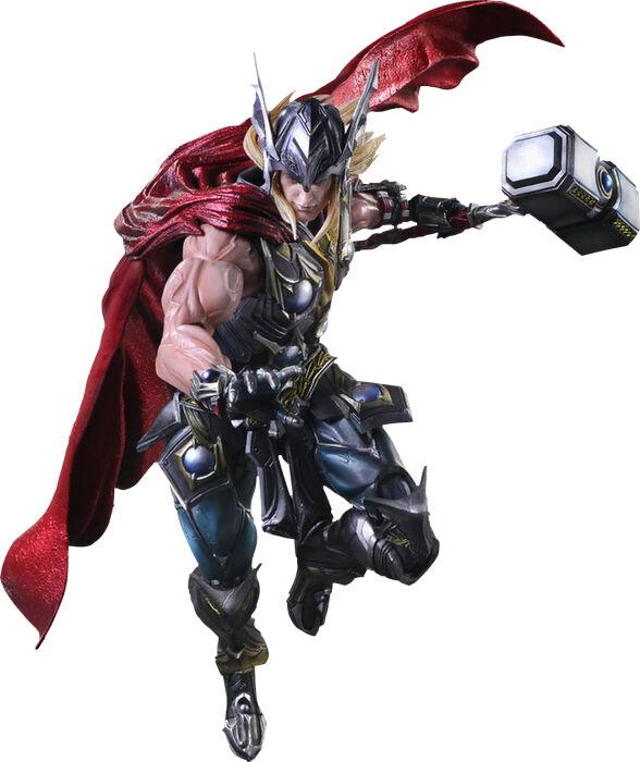 THOR - 10 Thor Thor Thor Variant Play Arts Kai Action Figure