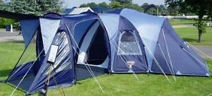 Image is loading VANGO-DIABLO-600-6-MAN-PERSON-BERTH-FAMILY- & VANGO DIABLO 600 6 MAN PERSON BERTH FAMILY CAMPING TENT - FLYSHEET ...