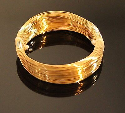 20 Ga Solid Red Brass Jewelry /& Craft Wire SOFT 22 Ft. Coil // 1 Oz