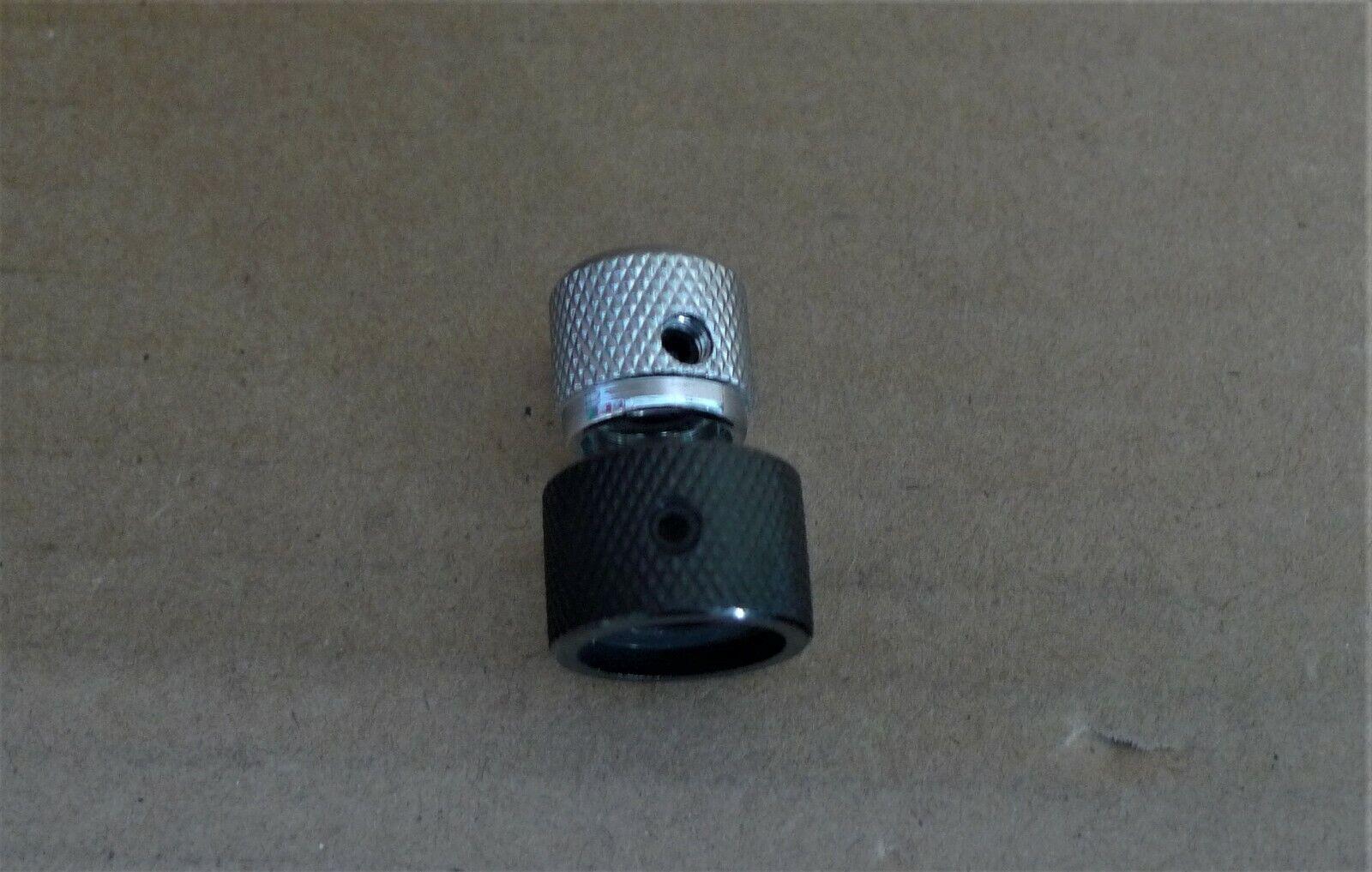 COSMO BLACK Genuine Ibanez Barrel Knob For Bass NEW #4KB1C1K