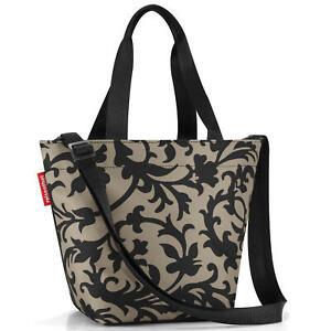 reisenthel-shopper-xs-tasche-einkaufstasche-baroque-taupe-front-back-doppelfarbe