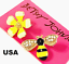 US-Seller-Betsey-Johnson-Crystal-Bee-Flower-Stud-Earrings-Yellow-Fashion-Jewelry thumbnail 1