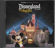 Disneyland Park The Official Album 2001 CD USA Disney F5363