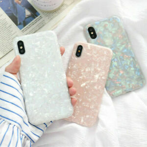 Shining-Glitter-Phone-Case-For-iPhone-XS-Max-XR-8-7-6S-Plus-Marble-Silicon-Cover