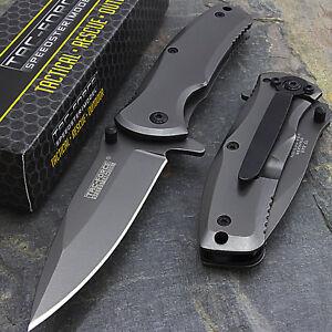 6-25-034-TAC-FORCE-TITANIUM-SPRING-ASSISTED-FOLDING-POCKET-KNIFE-Blade-Open-Assist