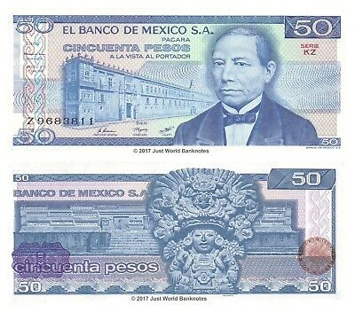 1981 P-73 Unc Mexico 50 Pesos