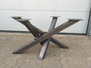 Design-Tischgestell-Gestell-Esstisch-Tischfuss-Industrie-Holztisch-Tischbein-Loft