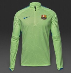 afa12703a Image is loading Nike-FC-Barcelona-Shield-Strike-Track-Drill-Top-