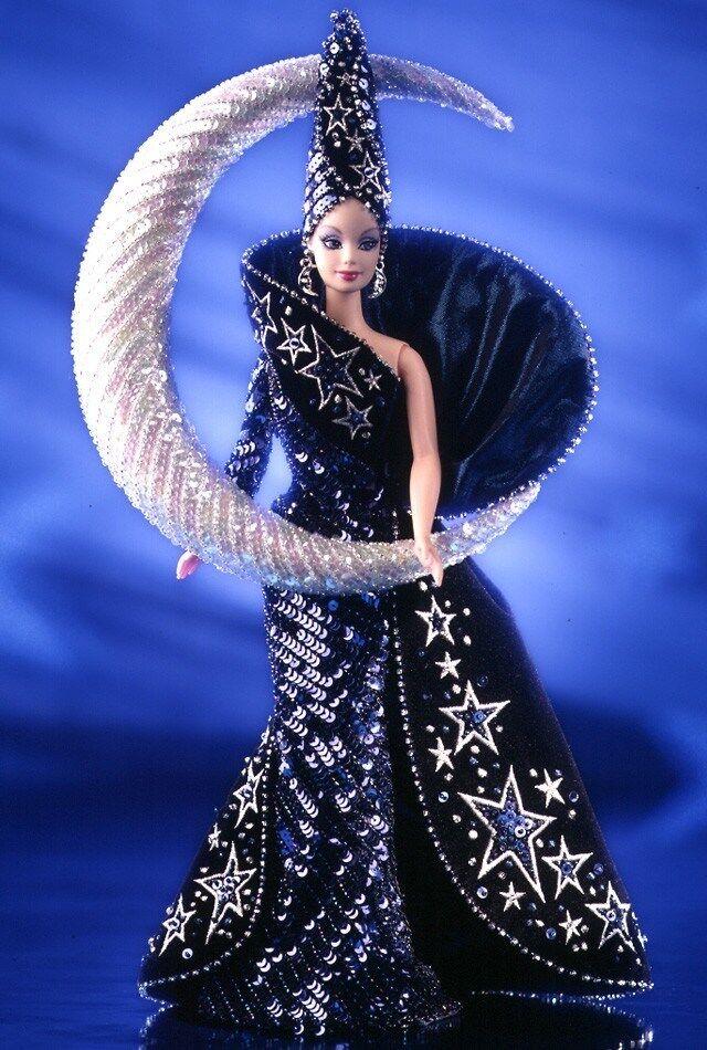 Diosa De La Luna Barbie Bob Mackie Collector Ed Nrfb
