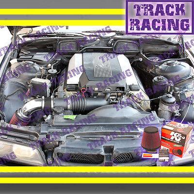 BLACK BLUE 94 95 96 97 98 99-03 BMW 540 i 540i M60//M62//E34//E39 AIR INTAKE KIT