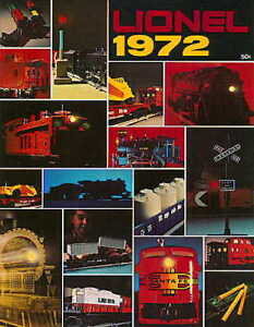 1972 LIONEL TRAINS CONSUMER CATALOG MINT