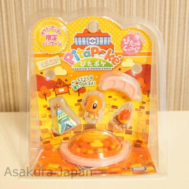 Pita-Poke Pokemon Center Limited Ver. Charmander Mini figure TAKARATOMY PitaPoke
