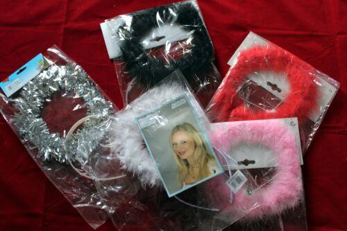 Haarreif Heiligenschein Kostüm Zubehör Engel 5 Farben verfügbar