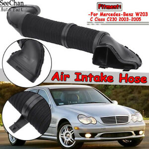 NEW Mercedes W203 C230  Air Intake Hose Intake Scoop to Air Filter Housing