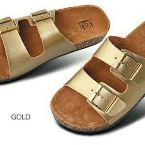 54f0def092a8 Kali GIRL'S Birkin Style Buckle Sandals (Eagle Jr.) Children Size | eBay
