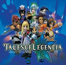 New 0550-2 TALES OF LEGENDIA ORIGINAL SOUNDTRACK CD Song Music Game Anime
