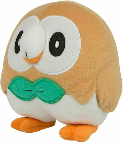 """Official Licensed Pokemon Rowlet Plush Stuffed Figure Doll Toy Gift Kids USA 10/"""""""