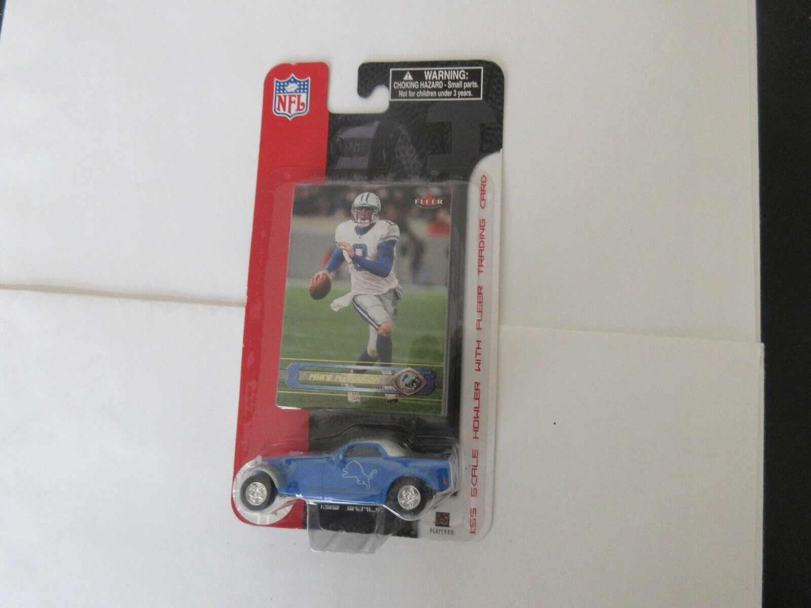 Mike McMahon , Fleer , 1:55 Scale Howler with Trading C