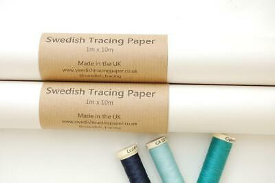 Tracing Paper White Sewable Swedish Tracing Paper 29 x 30
