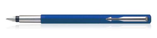 Blue Genuine Parker Vector Standard CT Fountain Pen Stainless Steel,Gift