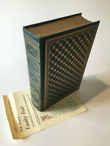 VANITY FAIR by William Makepeace Thackeray, International Collectors 1st edition
