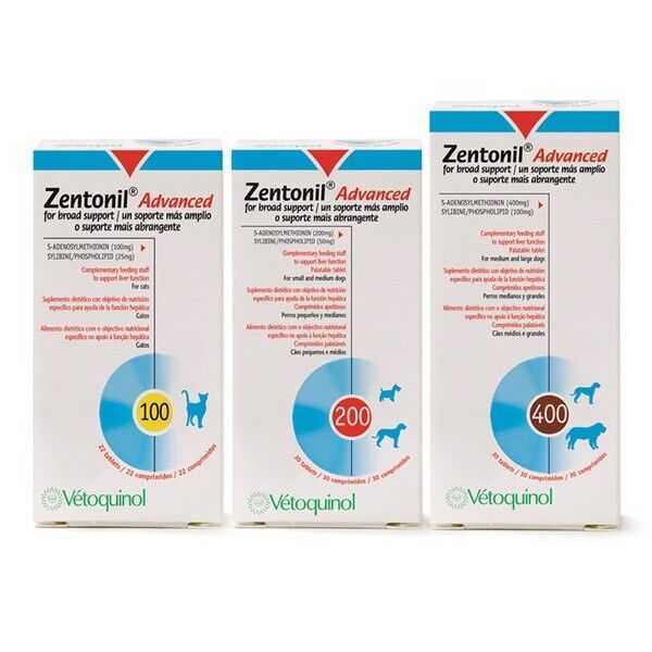 Zentonil Advanced Liver Support for Dogs 100mgx30, Premium Service fast dispatch