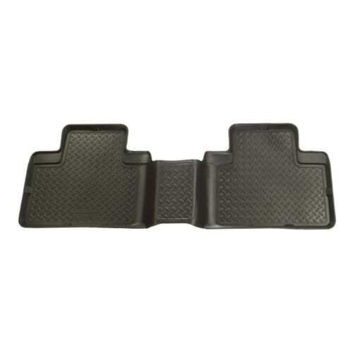 63051-01-03 Ford F-150 SuperCrew Cab-Black Husky Liners Classic 2nd Row Mat