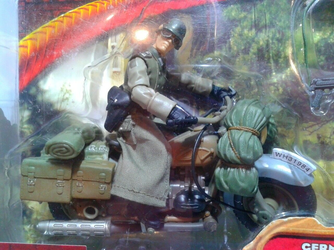 Indiana Jones Last Crusade German Soldier With With With Motorcycle MIB OVP d92d51