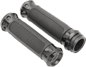 "Performance Machine TBW 1/"" Motorcycle Grips 08-17 Harley Touring Softail FXDLS"