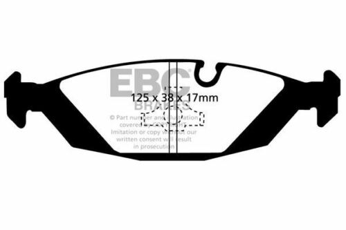 # DP4447R EBC Yellowstuff REAR Brake Pads fit BMW
