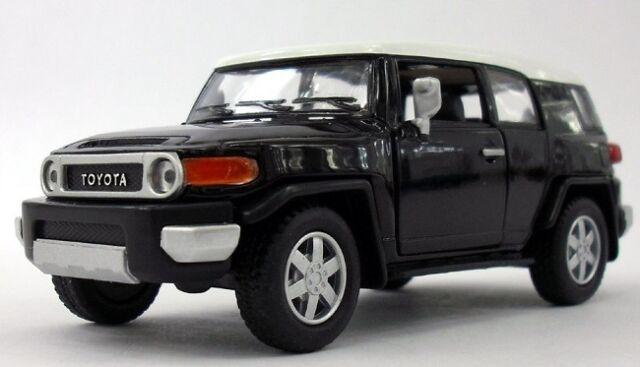 Kinsmart Toyota Fj Cruiser Suv Off Road 1 36 Scale 5 Cast Model Car
